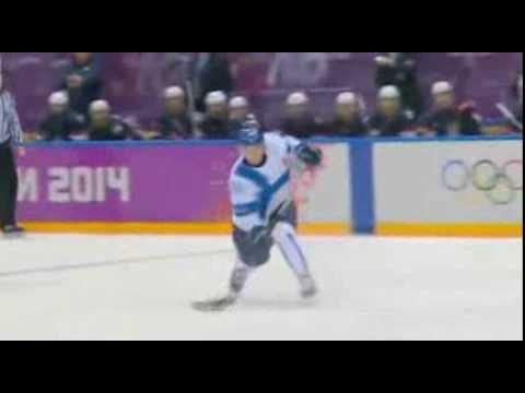 USA vs Finland Highlights Sochi bronze medal Game 2014 0-5