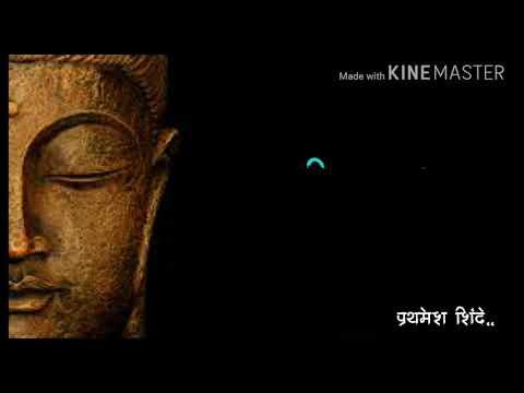 Pratham namo gautam#budhha geet#whatsappstatus video lyrics