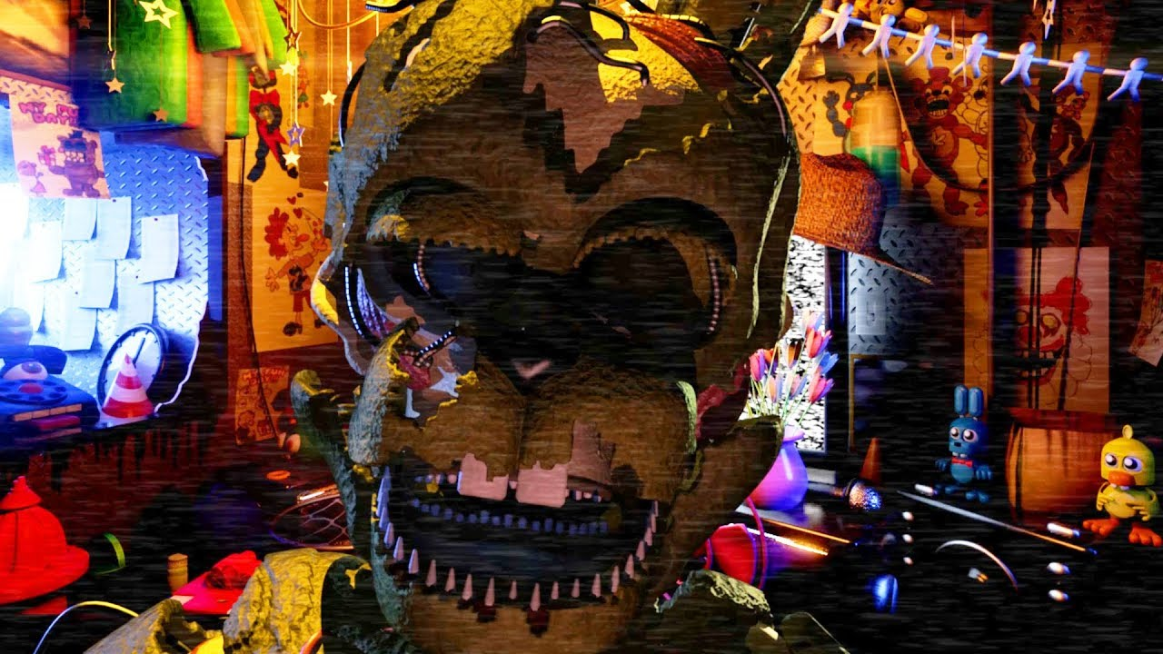 DO NOT RETURN TO THE FNAF 6 LOCATION! TERRIFYING ANIMATRONICS ATTACK | Five  Nights at Freddys FRDSPY
