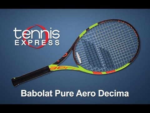 Babolat Pure Aero Decima French Open Tennis Racquet Review  2be269f6c8aaa