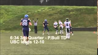 UBC FOOTBALL HIGHLIGHT 2013