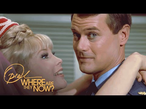 I Dream of Jeannie's Barbara Eden on Larry Hagman's Passing  Where Are They Now  OWN