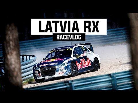 RIGA, LATVIA RALLYCROSS RACEVLOG | #BakkerudLIFE 109