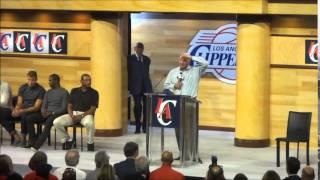 Steve Ballmer Speaking At Clippers Fan Festival –iFolloSports.com