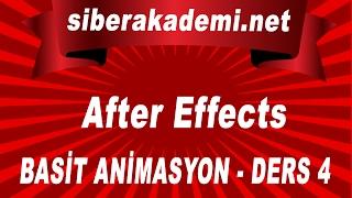 After Effects Dersleri 4