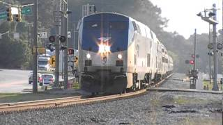 The Amtrak Crescent #20 w/ Horn Show by Big Moe!!! Austell,Ga 08-13-2011© (16x9)