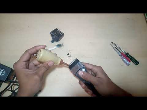 how to clean a trimmer, open,oiling etc. part 2