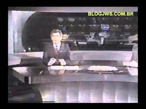 Geadas de Curitiba em destaque no Jornal da Manchete em 1984.wmv