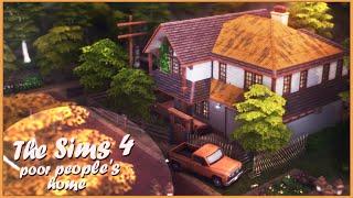 Дом для бедных | Строительство Симс 4