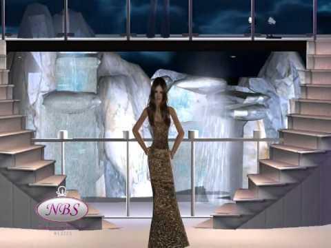Nuestra Belleza Sim México 2012 (Ronda 3, Traje de Gala)