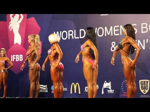 Fitness Qualifying at World Women's Fitness Championship in Kiev Ukraine 2013 (over 163 cm)