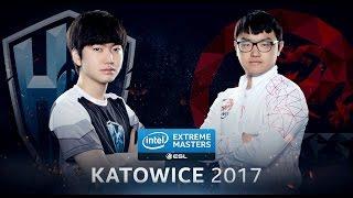 LoL - H2k-Gaming vs. Hong Kong Esports - Group A Decider Game 3 - IEM Katowice 2017 [2/2]