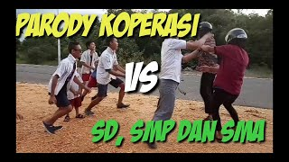 Video Dayak lucu banget dan kocak | parody koperasi vs SD,  SMP dan SMA