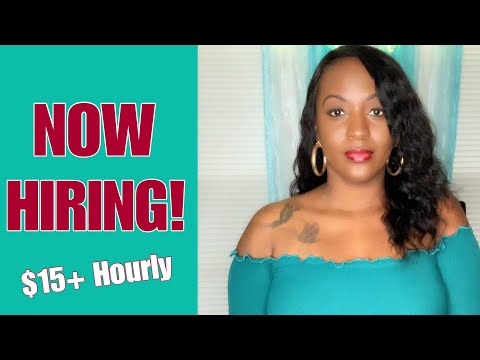 5 Work From Home Jobs Paying Over $15 Hourly | 2018/2019