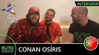 PORTUGAL EUROVISION 2019: Conan Osíris - 'Telemóveis' (INTERVIEW) | Tel Aviv 2019