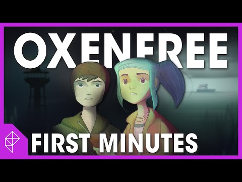 First gameplay from Oxenfree, 2015's coolest-looking adventure game