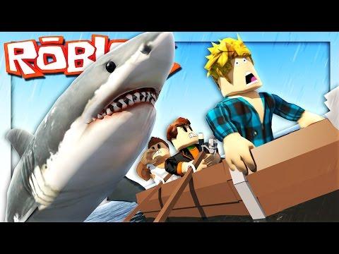 Roblox Adventures - ROBLOX SHARK ATTACK! (Roblox Jaws Shark Attack)
