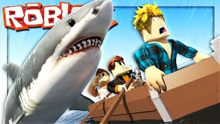 Roblox Adventures - ROBLOX SHARK ATTACK! (Roblox Jaws Shark Attack)