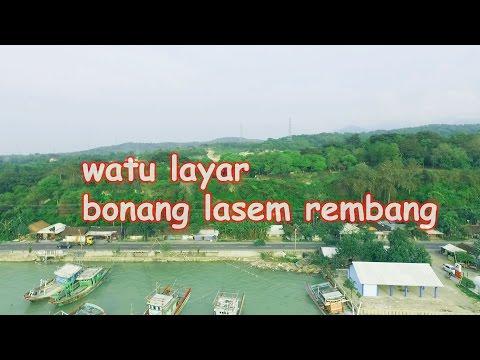 Wisata Watu Layar Bonang Lasem Rembang