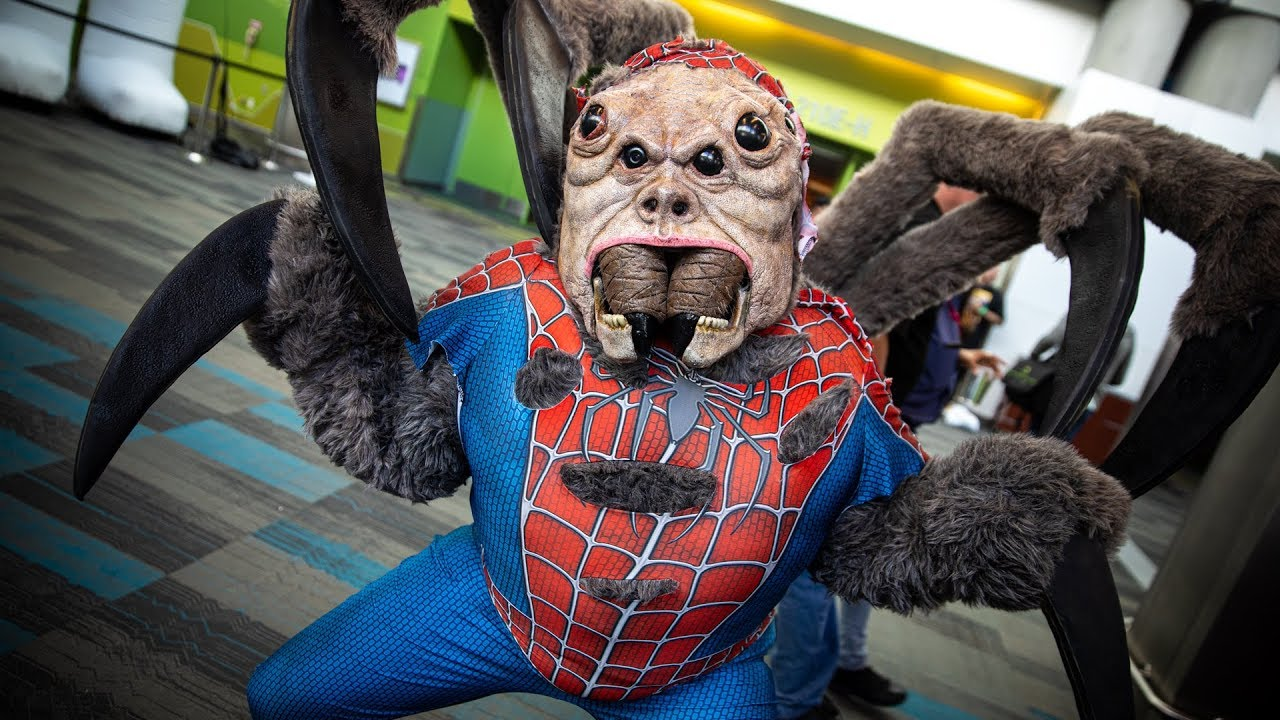 The Amazing Man-Spider Cosplay!