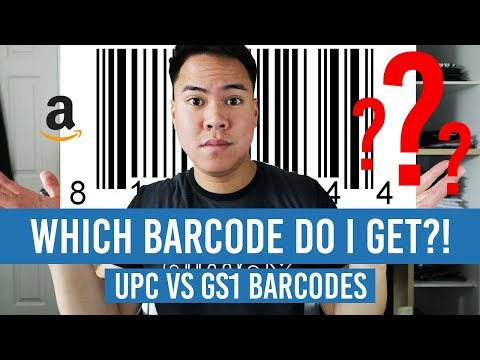 Amazon Barcode UPC vs. GS1! Which One Should You Get?!