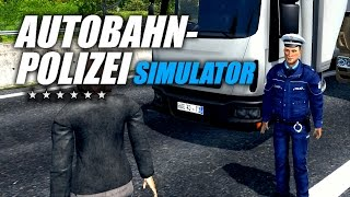 Autobahn-Polizei Simulator - Der erste große LKW-Unfall