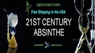 A Modern Way to Prepare Absinthe - the SLIPSTREAM® Absinthe Glass
