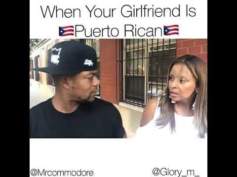 When your girl is Puerto Rican 😭😭🇵🇷🇵🇷🇵🇷😂🤣