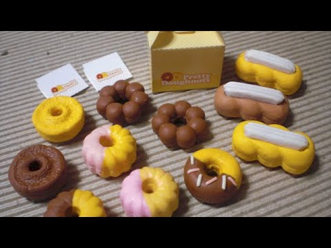 Kutsuwa Eraser Making Kit #1  Doughnuts