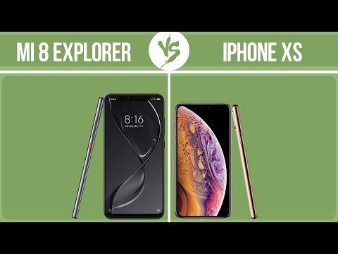 Xiaomi Mi 8 Explorer Edition vs Apple iPhone XS ✔️