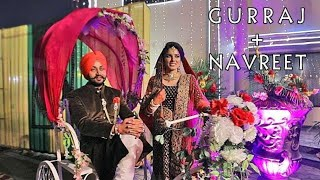 Royal Sikh Cinematic Video ll Gurraj  +  Navreet ll Gian Verma Photography
