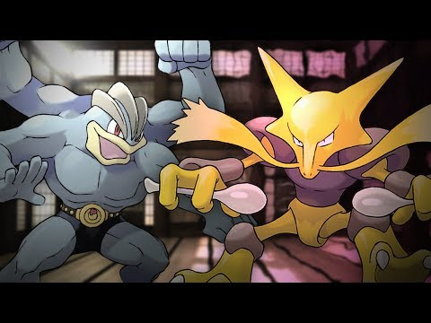 Machamp vs Alakazam Epic Rap Battles of Pokémon #6