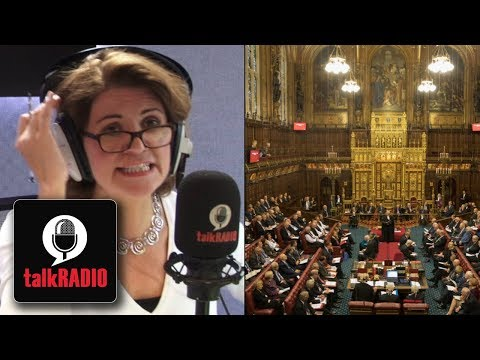 BREXIT: Is the House of Lords defying the will of the British people?   Julia Hartley-Brewer