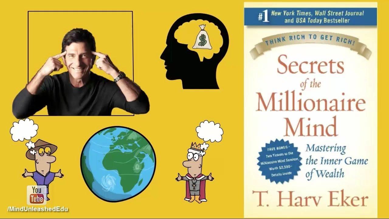 أسرار عقل المليونير : كتاب ل هارف إيكر | ملخص كرتوني