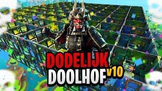 HET DODELIJKE DOOLHOF v10 - Fortnite Mini-Game met Don, Milan & Harm
