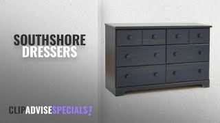 Top 10 Southshore Dressers [2018]: South Shore Furniture, Summer Breeze Collection, 6 Drawer