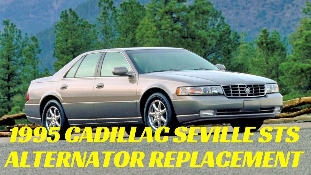 Cadillac Seville 46 Alternator Replacement Northstar Sls Sts Youtube 02 Deville Fuse Box Location