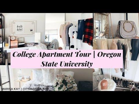 COLLEGE APARTMENT TOUR OREGON STATE UNIVERSITY | MARISA KAY