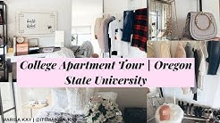 COLLEGE APARTMENT TOUR OREGON STATE UNIVERSITY | MARISA KAY