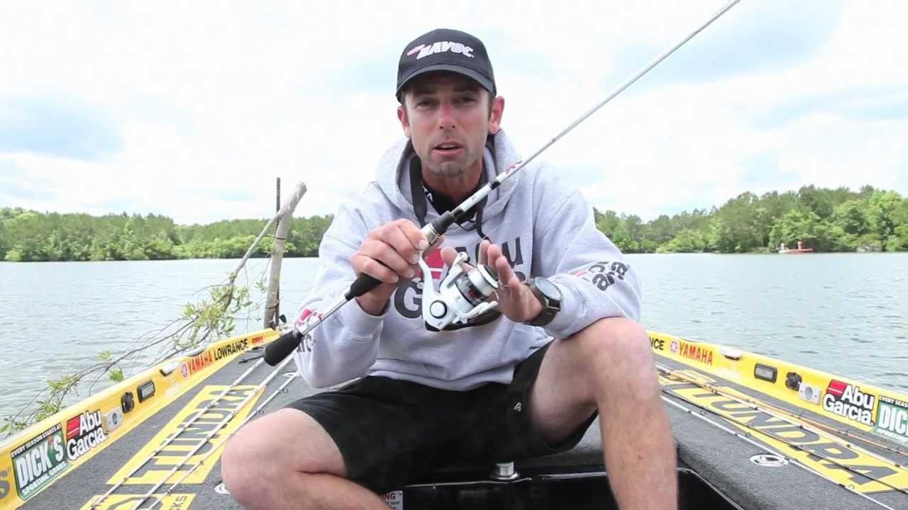 Abu Garcia Ike Dude Spinning//Spincast Fishing Reel /& Rod Combo