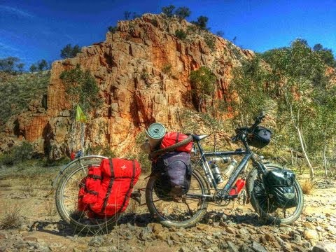 Bicycle Touring West MACDONNELL rangers