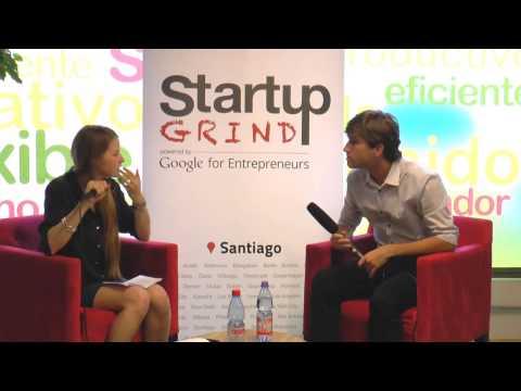 Gustavo Vaz (Easy Taxi) at Startup Grind Santiago