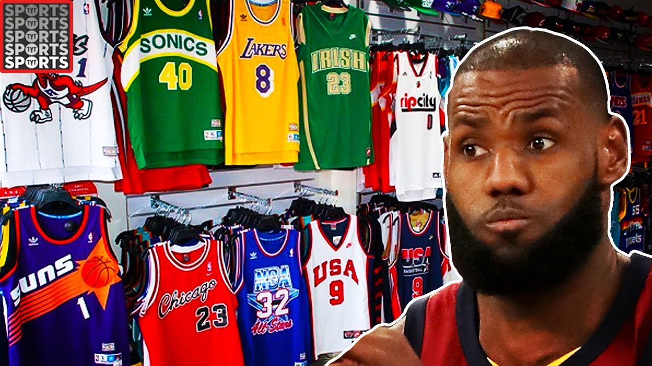 new style 7a369 856e7 What LeBron James Looks Like in EVERY NBA Uniform