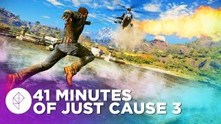 41 Minutes of Just Cause 3 Gameplay (60fps)
