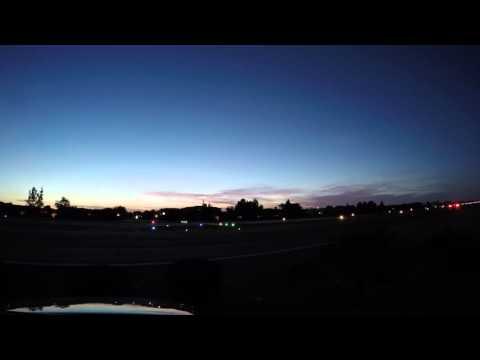 Sunset Time Lapse 4K: Stellar Airpark, Chandler Arizona