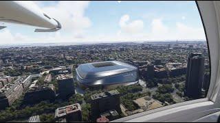 VIDEO Increíble simulación aérea del nuevo Santiago Bernabéu ya terminado