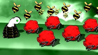 This Alien Bug Battle was So Close the Bees had to Decide the Winner in Swarm Queen!