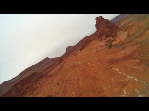 Quick flight with the Flinch, Moab