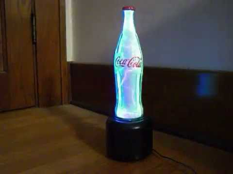 COCA COLA ELECTROPLASMA LAMP - YouTube