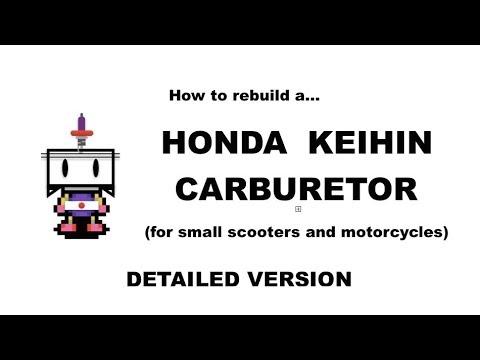 How to Clean and Rebuild Honda C50, 70, 90/Super Cub Carburetor (Keihin,  Detailed Version)